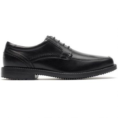 נעלי גברים אלגנטיות Rockport SL2 Apron Toe שחור